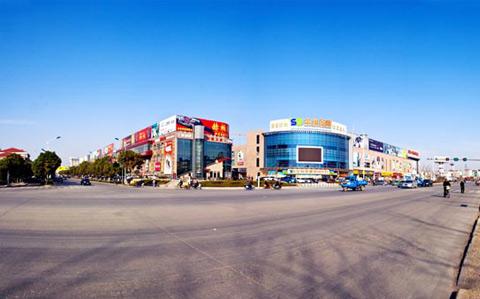 深海800米安徽天长店选址位于人流如织的天发广场