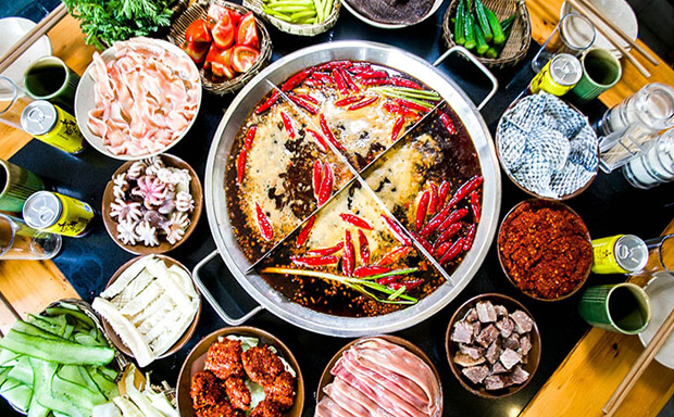 大龙燚火锅菜品图片