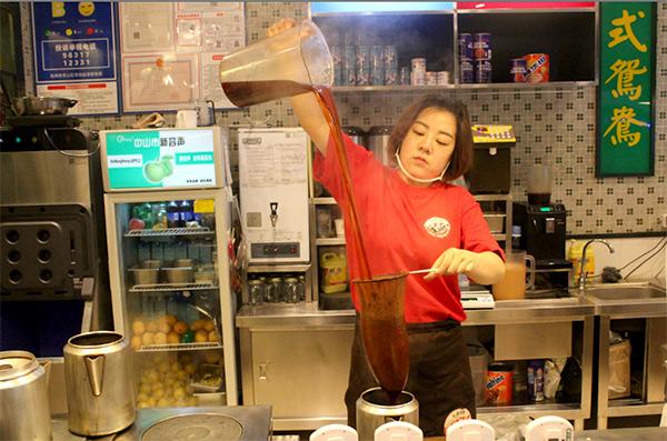 大通冰室港式奶茶加盟条件费用