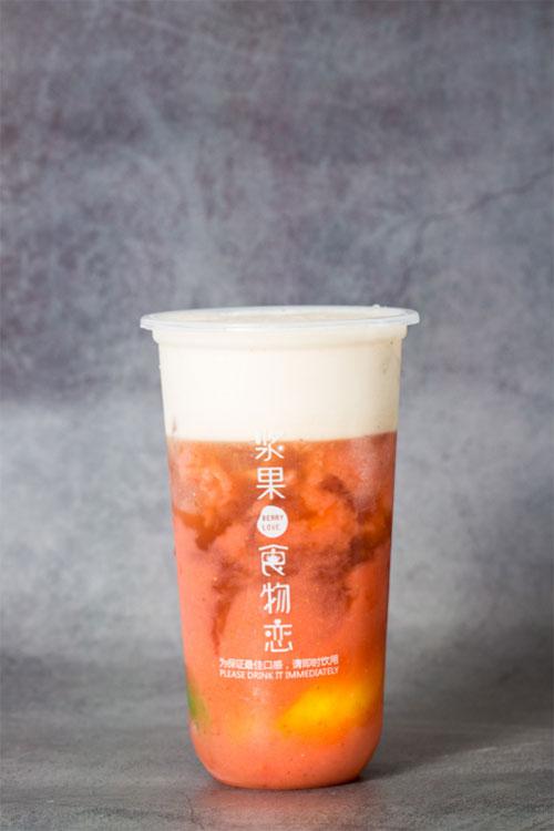 浆果食物恋果融酸奶饮品加盟介绍