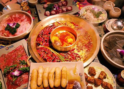 小龙坎火锅菜品