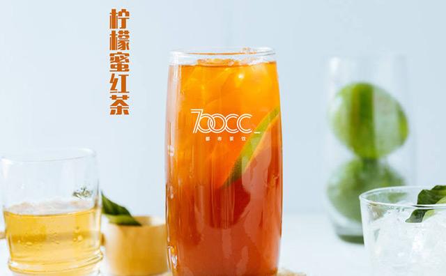 700cc都市茶饮加盟产品