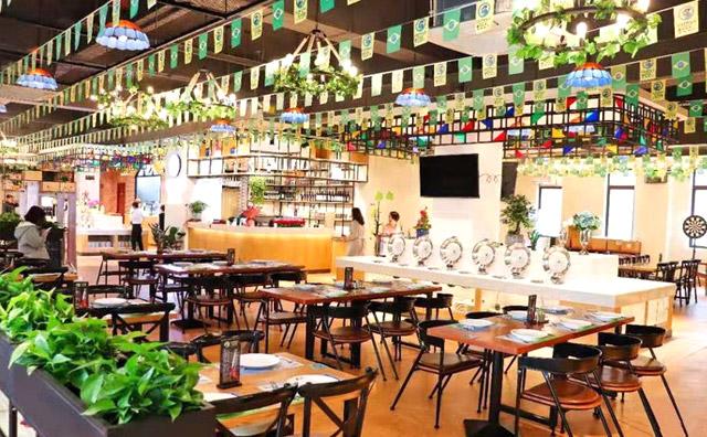 圣多斯巴西烤肉加盟店面