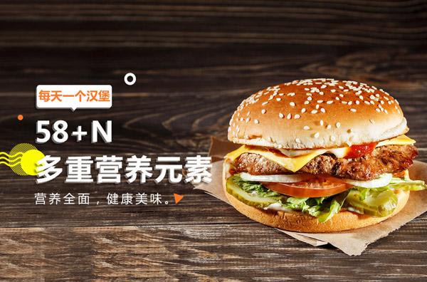 汉堡店怎么计算一天利润有多少?