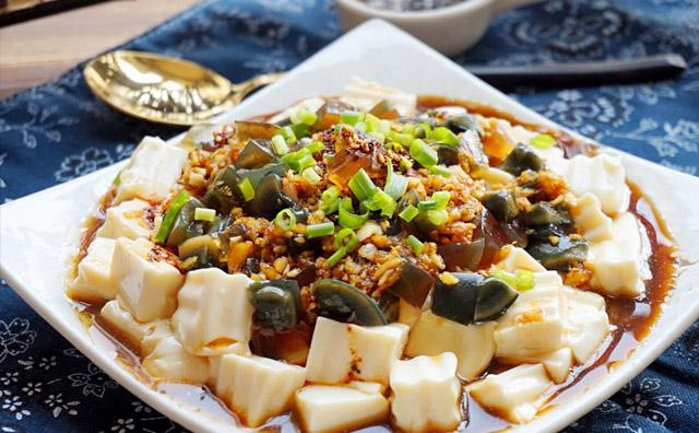 皮蛋豆腐家常怎么做