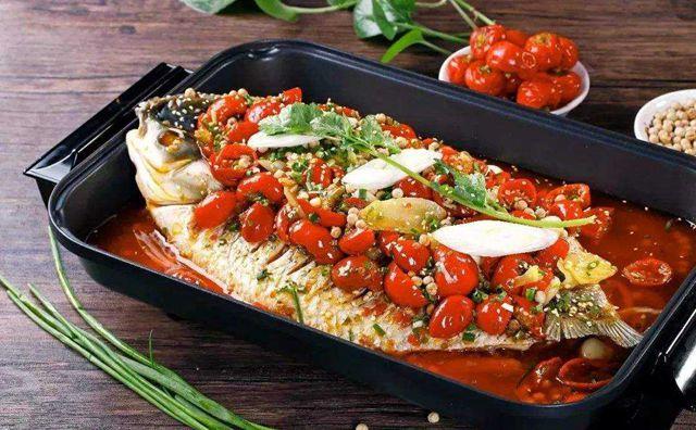 巴炉烤鱼,活鱼现烤,新鲜卫生看得见