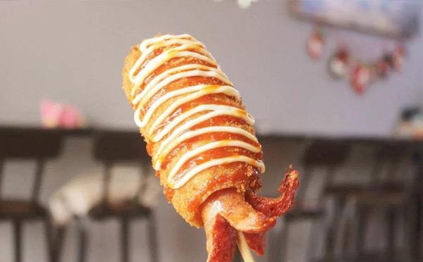 学什么小吃简单又好吃-芝土热狗
