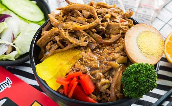 壹杯鲁肉饭,自创餐饮品牌