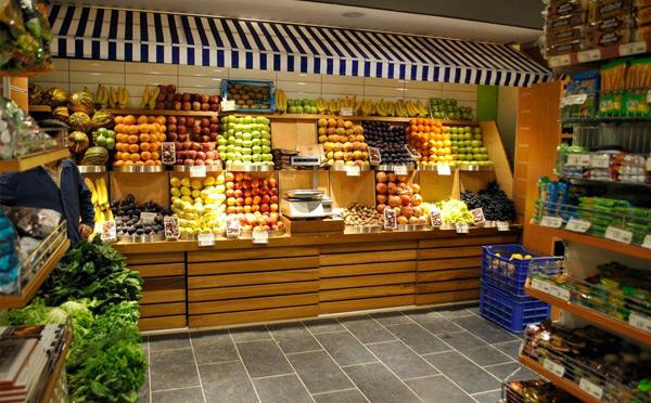 水果店:健康美食