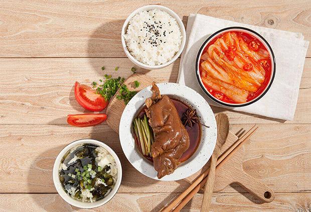 米集合米饭简餐,酱香大骨饭