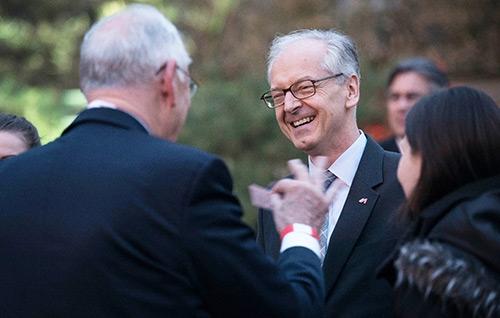 4月9日晚,大董烤鸭工体店喜迎奥地利总统等贵宾