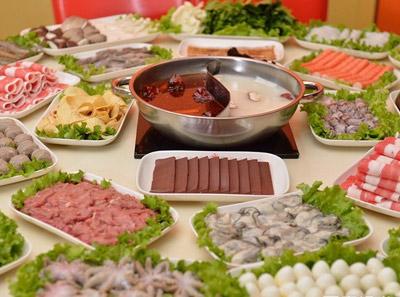 彤德莱火锅菜品全景