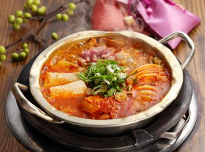 喜来稀肉泡菜汤