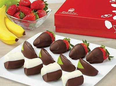 爱蒂宝脆巧草莓香蕉青苹果礼盒