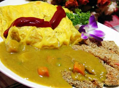 神户牛排滷肉蛋包饭