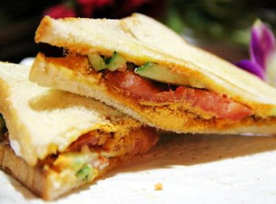 神户肉松三明治