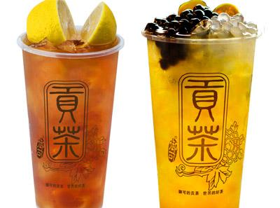 贡茶熊猫果茶