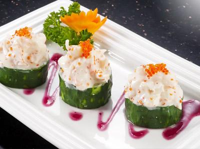 鱼旨寿司龙虾色拉黄瓜