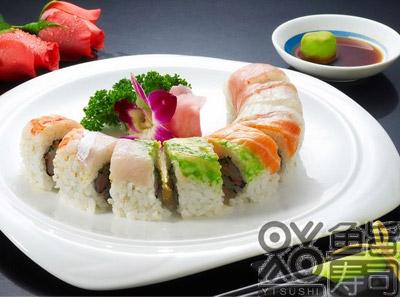 鱼旨寿司彩虹卷