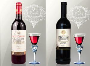 法国醍恩珍藏赤霞珠干红葡萄酒