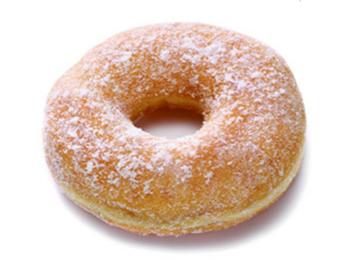 站亭甜甜圈糖霜多拿滋