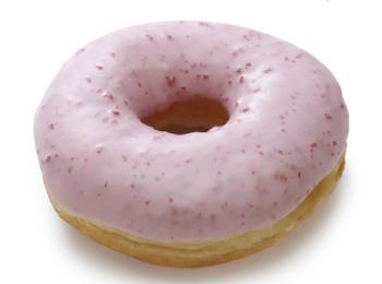 站亭甜甜圈草莓多拿滋