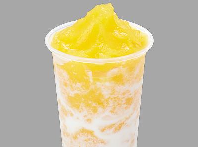 享甜芒果酸奶沙冰