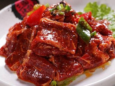 三国炙烤肉烤香麻牛肉