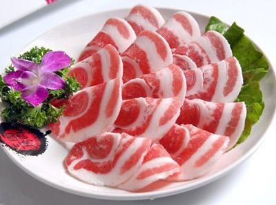 三国炙烤肉烤五花肉