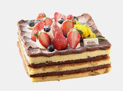 卡萨米亚蛋糕展示图