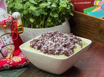 杨小贤甜品红豆芋圆抹茶绵绵冰