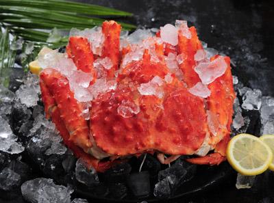 8千米深海鱼帝王蟹