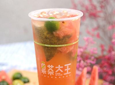 果茶大王饮品菜品