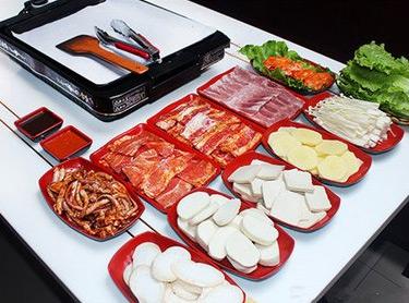 1977烤肉菜品