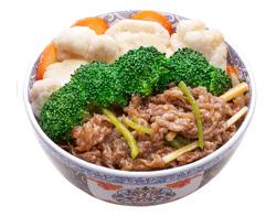 雅山日式快餐香扒烤肉饭