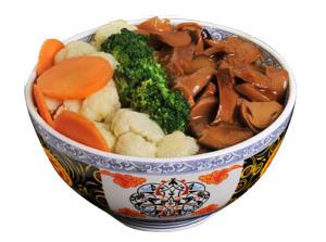 雅山日式快餐什锦蘑菇饭