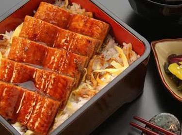 越前外带寿司-烤鳗鱼前菜