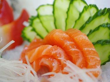 越前外带寿司-三文鱼刺身