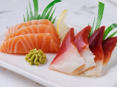越前外带寿司-刺身双拼