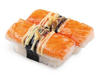 吉哆啦回转寿司-炙烧蟹肉