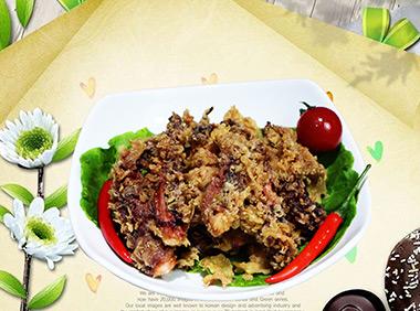 豪大大鸡排加盟菜品