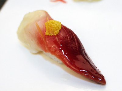 鲜品萃寿司菜品展示品牌