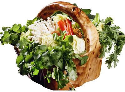 捞味蔬菜拼盘