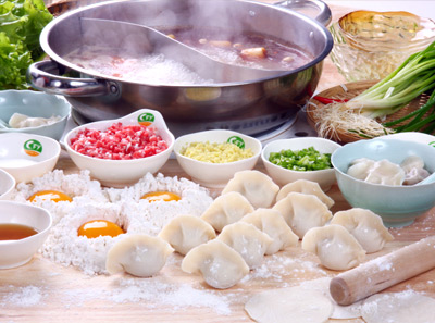 翠峰苑火锅菜品