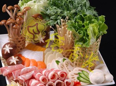 德香苑蔬菜牛肉拼盘