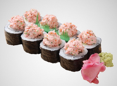 町上寿司蟹籽沙律卷