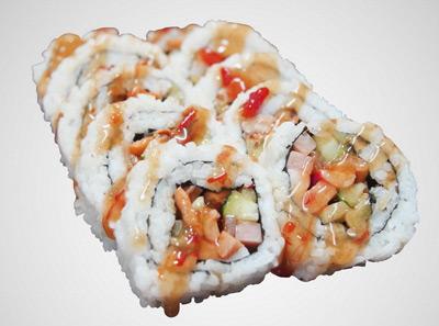 町上寿司墨西哥鱼骨辣卷