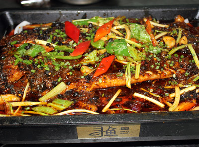 寻鱼私烤菜品展示