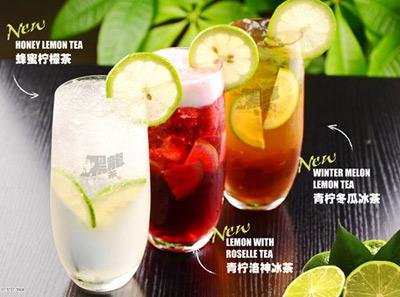 黑龙茶蜂蜜柠檬茶
