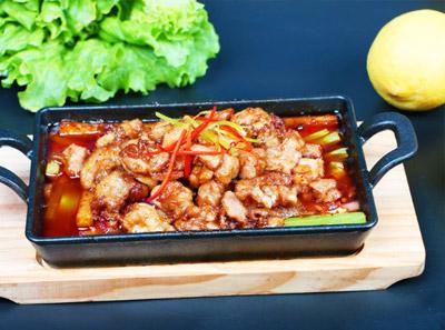 烤鱼饭加盟菜品